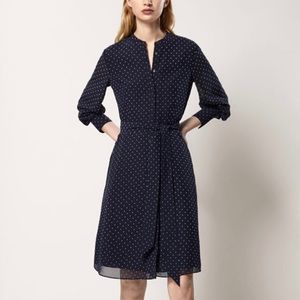 Polka dot dress Massimo Dutti